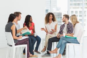 Terapia di gruppo e problemi sul lavoro, conflitto tra colleghi